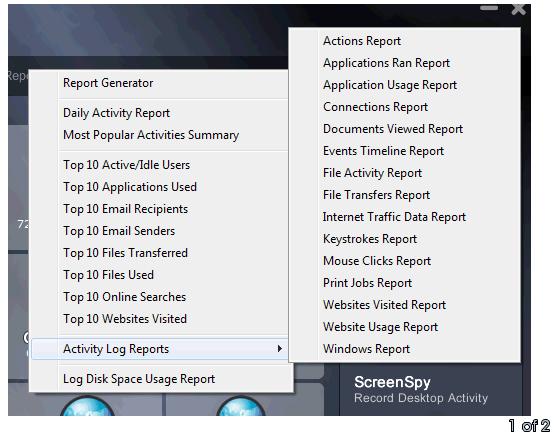 Log Reports